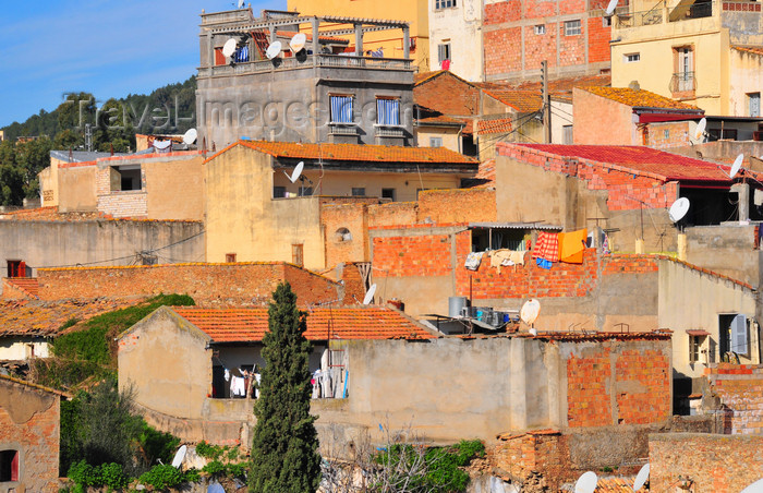 algeria331: Algeria / Algérie - Béjaïa / Bougie / Bgayet - Kabylie: post-independence urban planning | urbanisme de l'Algérie indépendante - photo by M.Torres - (c) Travel-Images.com - Stock Photography agency - Image Bank