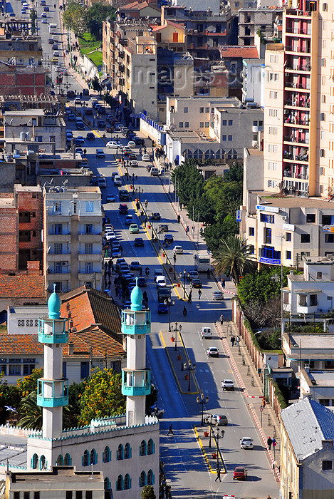 algeria340: Algeria / Algérie - Béjaïa / Bougie / Bgayet - Kabylie: Liberty street | Rue de la Liberté - photo by M.Torres - (c) Travel-Images.com - Stock Photography agency - Image Bank