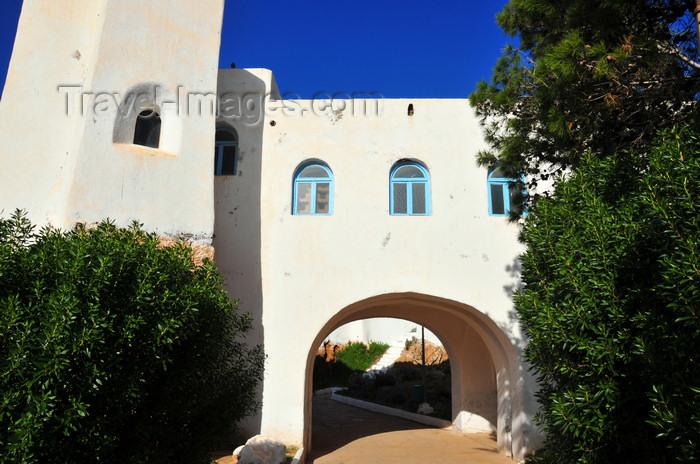 algeria384: Tipasa, Algeria / Algérie: Corne d'Or touristic complex – white and blue | Complexe touristique Corne d'Or – blanc et bleu - photo by M.Torres - (c) Travel-Images.com - Stock Photography agency - Image Bank