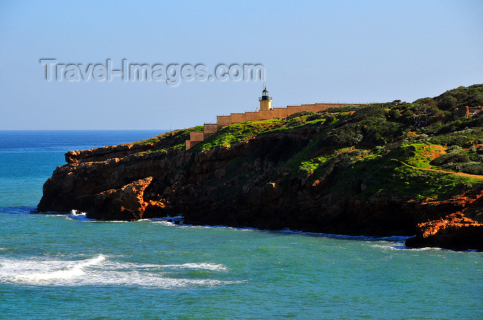 algeria399: Tipaza, Algeria / Algérie: Forum promontory and the lighthouse | promontoire du Forum et le phare - photo by M.Torres - photo by M.Torres - (c) Travel-Images.com - Stock Photography agency - Image Bank