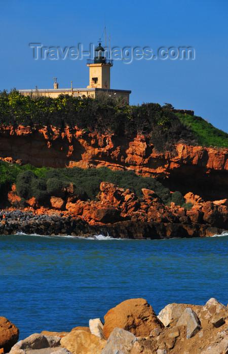 algeria408: Tipaza, Algeria / Algérie: lighthouse - Forum promontory   phare - promontoire du Forum - photo by M.Torres - (c) Travel-Images.com - Stock Photography agency - Image Bank