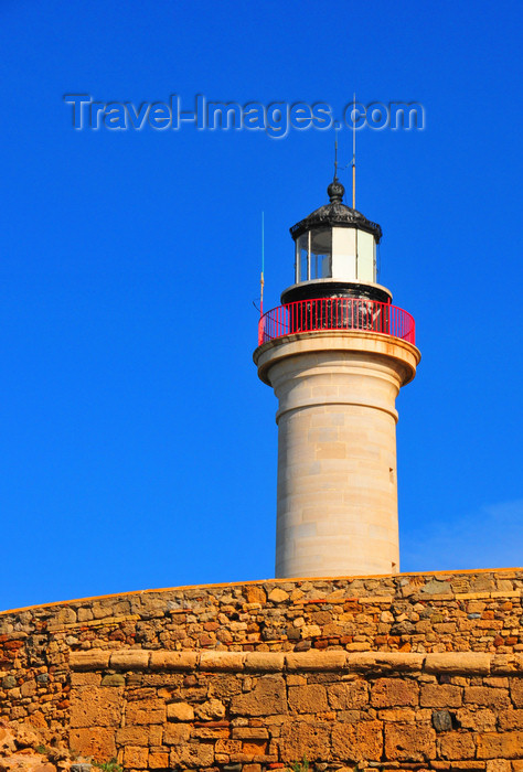 algeria443: Cherchell - Tipasa wilaya, Algeria / Algérie: the lighthouse | le phare - photo by M.Torres - (c) Travel-Images.com - Stock Photography agency - Image Bank