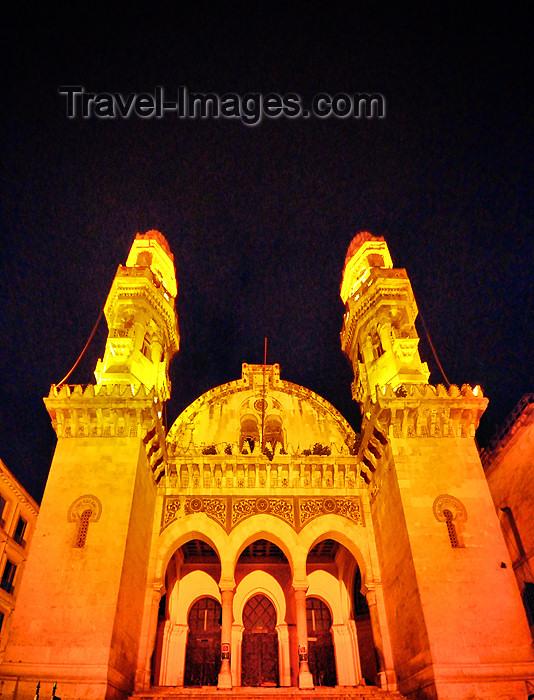 algeria456: Algiers / Alger - Algeria / Algérie: Ketchaoua mosque at night - Kasbah of Algiers - UNESCO World Heritage Site | Mosquée Ketchaoua - Djamaa Ketchaoua, qui signifie en langue turque 'plateau des chèvres' - nuit - Casbah d'Alger - Patrimoine mondial de l'UNESCO - photo by M.Torres - (c) Travel-Images.com - Stock Photography agency - Image Bank