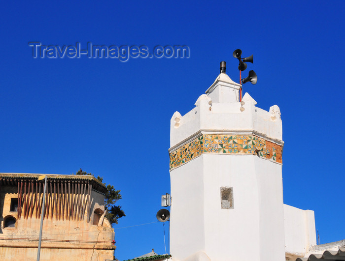 algeria488: Algiers / Alger - Algeria / Algérie: minaret in the Citadel - Dey Palace - Kasbah of Algiers - UNESCO World Heritage Site | minaret a la Citadelle - Palais du Dey - Fort de la Casbah - Casbah d'Alger - Patrimoine mondial de l'UNESCO - photo by M.Torres - (c) Travel-Images.com - Stock Photography agency - Image Bank