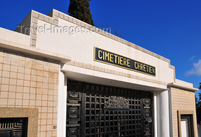 algeria698: Algiers / Alger - Algeria: Christian Cemetery - Chemin Mohamed Gacem, El Madania | Cimetière Chrétien - Chemin Mohamed Gacem, El Madania - photo by M.Torres - (c) Travel-Images.com - Stock Photography agency - Image Bank