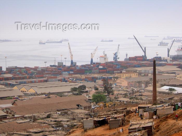 angola7: Angola - Luanda: harbour - container terminal / porto - terminal de contentores - photo by A.Parissis - (c) Travel-Images.com - Stock Photography agency - Image Bank