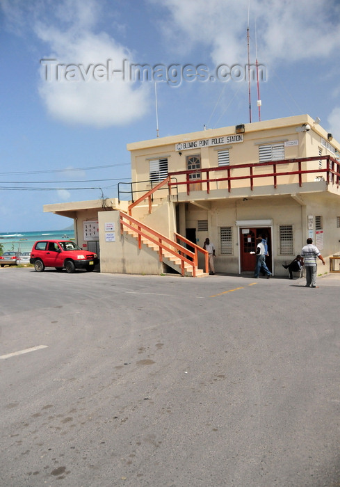 anguilla15: Blowing Point, Anguilla: the Police Station - photo by M.Torres - (c) Travel-Images.com - Stock Photography agency - Image Bank