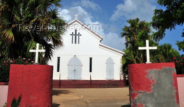 anguilla24: The Valley, Anguilla: Anglican Episcopal Parish Church of St. Mary's  - photo by M.Torres - (c) Travel-Images.com - Stock Photography agency - Image Bank