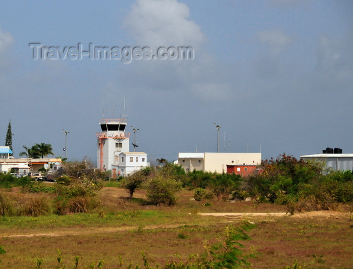 anguilla26: The Valley, Anguilla: tower of Wallblake Airport - AXA - Clayton J. Lloyd International Airport, named after Anguilla's foremost aviation pioneer - photo by M.Torres - (c) Travel-Images.com - Stock Photography agency - Image Bank
