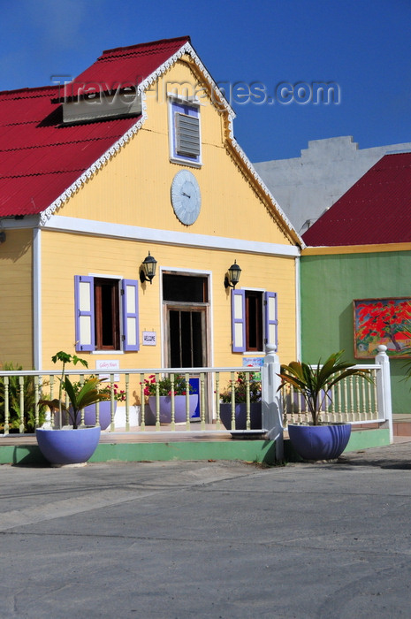anguilla31: The Valley, Anguilla: the Old Factory - former cotton ginning industry - Old Factory Plaza - Carter Ray Boulevard, Government Corner - photo by M.Torres - (c) Travel-Images.com - Stock Photography agency - Image Bank