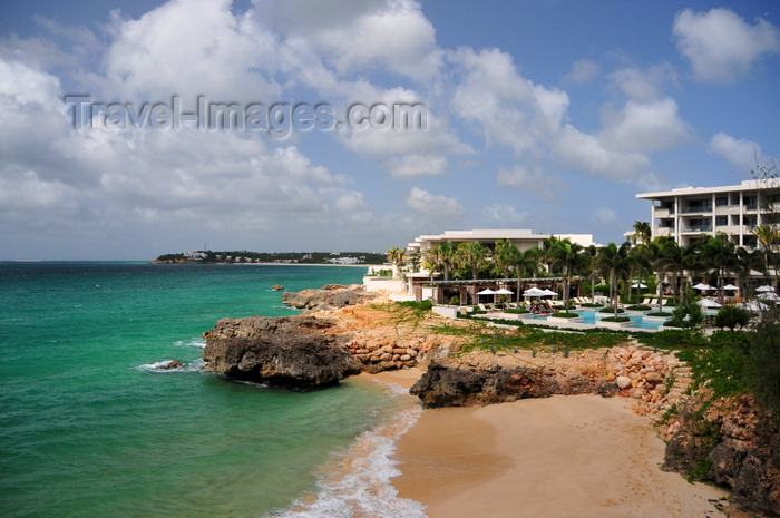 anguilla33: Barnes Bay, West End, Anguilla: Viceroy Anguilla resort - rocky point before Meads bay - photo by M.Torres - (c) Travel-Images.com - Stock Photography agency - Image Bank