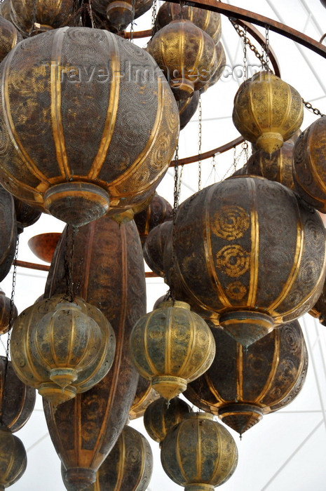 anguilla44: Maundays Bay, West End Village, Anguilla: Moorish chandelier - Cap Juluca five-star resort - photo by M.Torres - (c) Travel-Images.com - Stock Photography agency - Image Bank