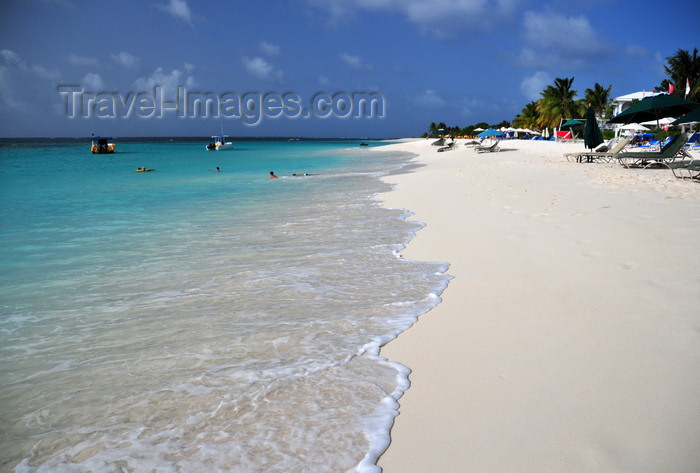 anguilla5: Shoal Bay East beach, Anguilla: the warm Caribbean water embraces the white sand - photo by M.Torres - (c) Travel-Images.com - Stock Photography agency - Image Bank