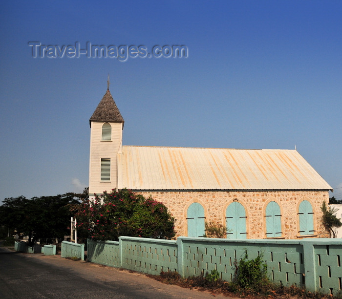 anguilla50: The Valley, Anguilla: Ebenezer Methodist Church - photo by M.Torres - (c) Travel-Images.com - Stock Photography agency - Image Bank