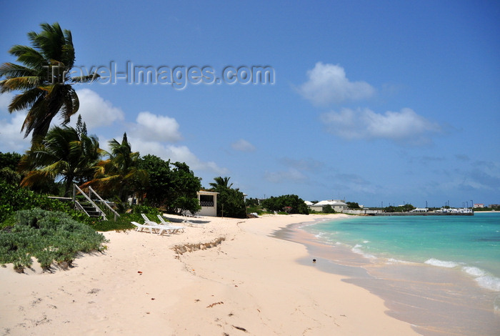 anguilla9: Blowing Point, Anguilla: sandy beach - photo by M.Torres - (c) Travel-Images.com - Stock Photography agency - Image Bank