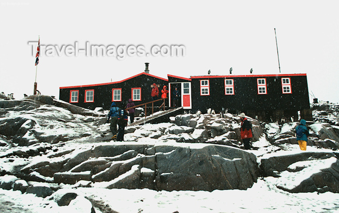 antarctica17: Port Lockroy, Wiencke sland, Antarctica: British installations - photo by R.Eime - (c) Travel-Images.com - Stock Photography agency - Image Bank
