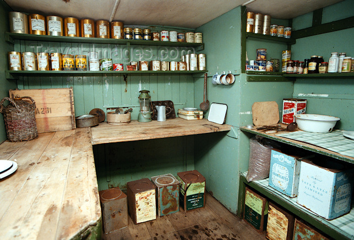 antarctica31: Port Lockroy, Wiencke Island, Antarctic peninsula, Antarctica: old galley - Bransfield House - historical museum - British Antarctic Survey - photo by R.Eime - (c) Travel-Images.com - Stock Photography agency - Image Bank