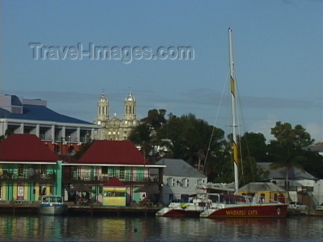 antigua-barbuda2: Antigua - St John's: on the water  (photo by S.Young) - (c) Travel-Images.com - Stock Photography agency - Image Bank
