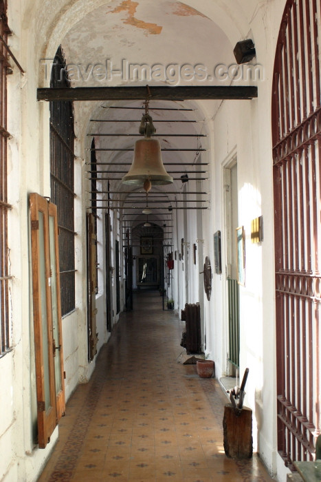 argentina100: Argentina - Buenos Aires: National Jail Museum - corridor - Museo Penitenciario nacional (photo by N.Cabana) - (c) Travel-Images.com - Stock Photography agency - Image Bank