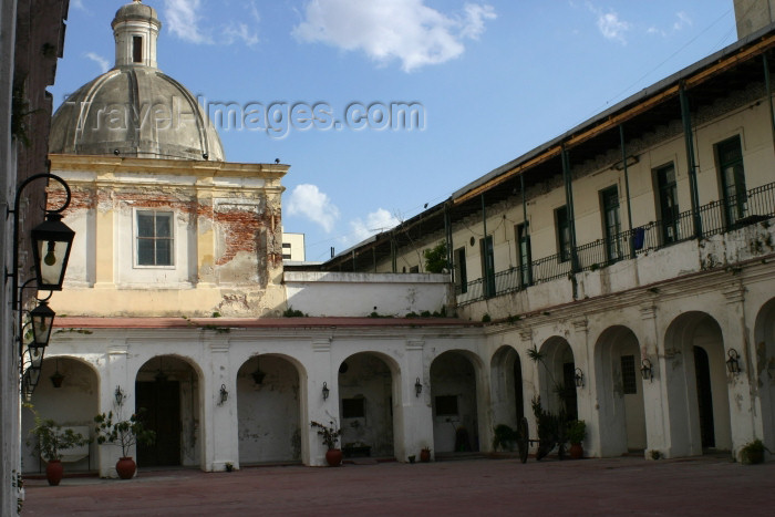 argentina101: Argentina - Buenos Aires: National Jail Museum - courtyard - Museo Penitenciario nacional (photo by N.Cabana) - (c) Travel-Images.com - Stock Photography agency - Image Bank