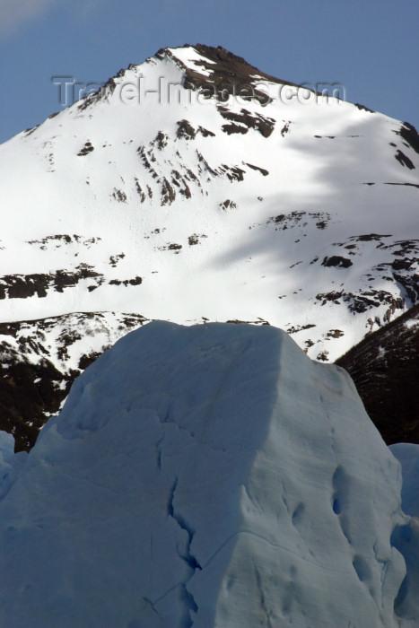 argentina126: Argentina - Los Glaciares National Park / Parque Nacional los Glaciares (Santa Cruz): Andean peak and Perito Moreno glacier - Unesco world heritage site (photo by N.Cabana) - (c) Travel-Images.com - Stock Photography agency - Image Bank