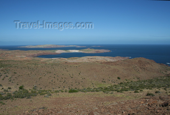 argentina161: Argentina - Caleta Horno - Bahía Gil (Chubut Province): the coast at 45ª south - photo by C.Breschi - (c) Travel-Images.com - Stock Photography agency - Image Bank