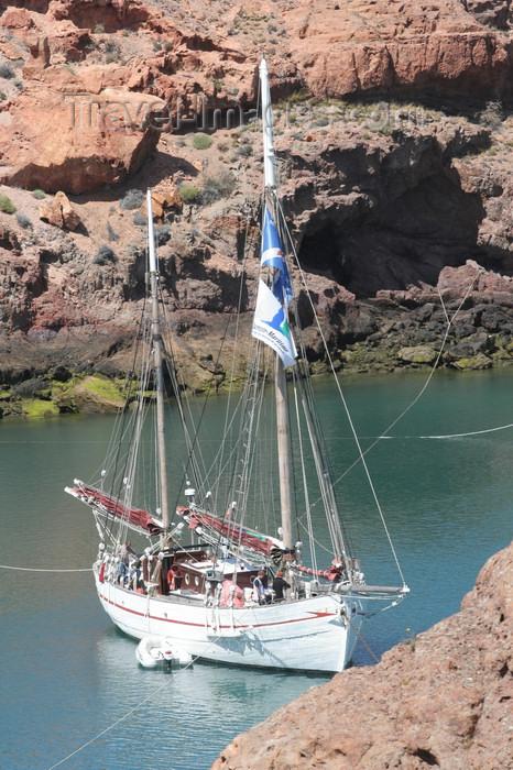 argentina168: Argentina - Caleta Horno - Bahía Gil (Chubut Province): sailing ship - 'Notre Dame des Flots' - ancien bateau de pêche - photo by C.Breschi - (c) Travel-Images.com - Stock Photography agency - Image Bank