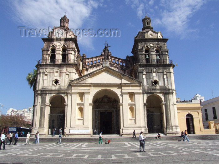 argentina195: Argentina - Córdoba - The Cathedral at Plaza San Martin - images of South America by M.Bergsma - (c) Travel-Images.com - Stock Photography agency - Image Bank