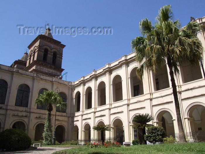 argentina198: Argentina - Córdoba - Monastery Juan de Tejeda - court - images of South America by M.Bergsma - (c) Travel-Images.com - Stock Photography agency - Image Bank
