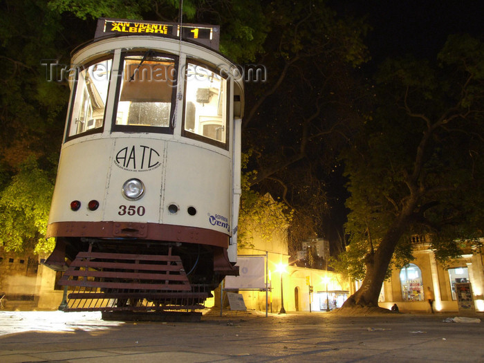 argentina200: Argentina - Córdoba - Old tram - nocturnal - Tranvia - preserved by the AATC, Asociacion Amigos del Tranvia de Cordoba - images of South America by M.Bergsma - (c) Travel-Images.com - Stock Photography agency - Image Bank