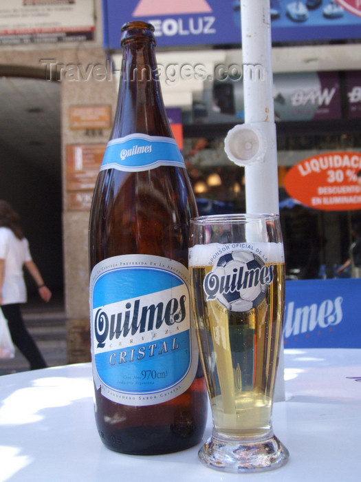 argentina204: Argentina - Córdoba - Quilmes beer - images of South America by M.Bergsma - (c) Travel-Images.com - Stock Photography agency - Image Bank