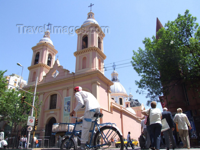 argentina206: Argentina - Córdoba - Santo Domingo church - images of South America by M.Bergsma - (c) Travel-Images.com - Stock Photography agency - Image Bank