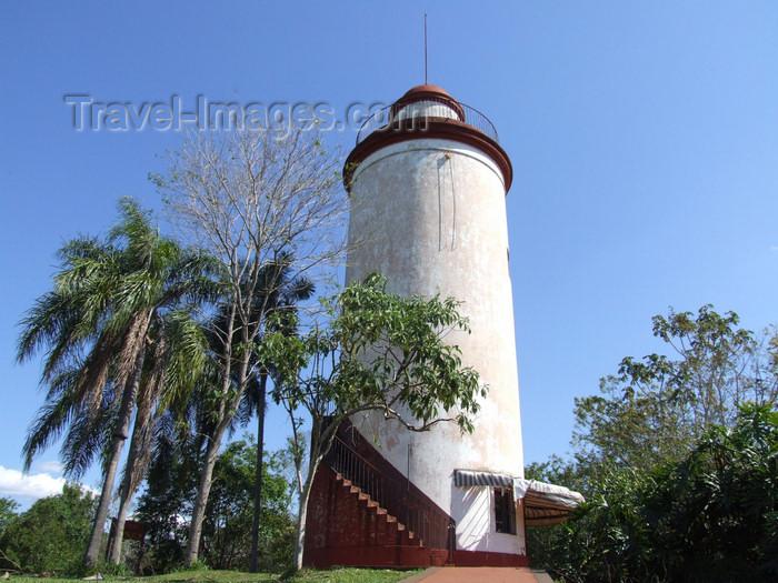 argentina222: Argentina - Iguazu Falls - Iguazu's lighthouse - images of South America by M.Bergsma - (c) Travel-Images.com - Stock Photography agency - Image Bank