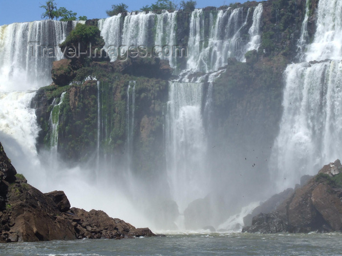 argentina234: Argentina - Iguazu Falls - white and green - images of South America by M.Bergsma - (c) Travel-Images.com - Stock Photography agency - Image Bank