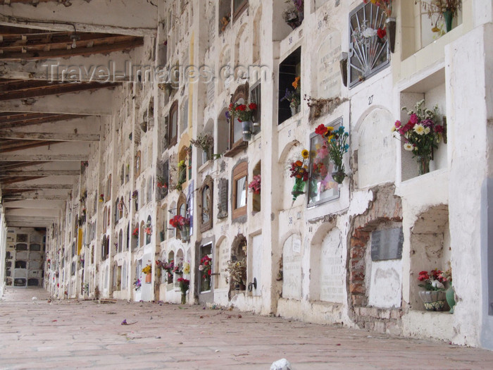 argentina253: Argentina - Salta - Cemetery - bone niches - images of South America by M.Bergsma - (c) Travel-Images.com - Stock Photography agency - Image Bank