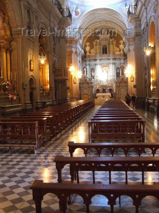 argentina264: Argentina - Salta - Inside Iglesia San Francisco - images of South America by M.Bergsma - (c) Travel-Images.com - Stock Photography agency - Image Bank