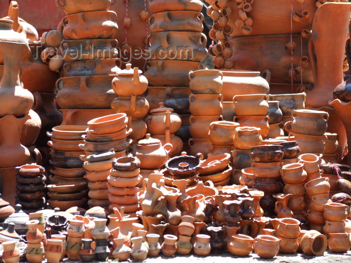 argentina270: Argentina - Salta - Pottery at Parque San Martin - images of South America by M.Bergsma - (c) Travel-Images.com - Stock Photography agency - Image Bank