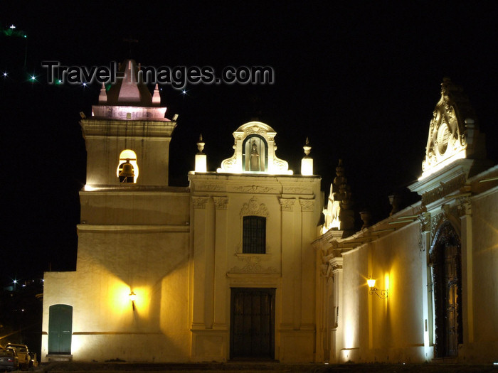 argentina273: Argentina - Salta - San Bernardo - the Monastery - nocturnal - images of South America by M.Bergsma - (c) Travel-Images.com - Stock Photography agency - Image Bank