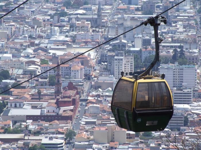 argentina278: Argentina - Salta - The Cerro San Bernardo cablecar - images of South America by M.Bergsma - (c) Travel-Images.com - Stock Photography agency - Image Bank
