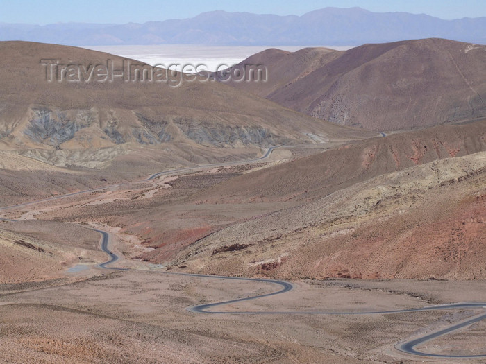 argentina285: Argentina - Salta province - road 40 to Salinas Grandes - images of South America by M.Bergsma - (c) Travel-Images.com - Stock Photography agency - Image Bank