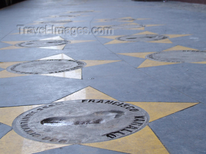 argentina309: Argentina - Buenos Aires - Boca Juniors walk of fame - images of South America by M.Bergsma - (c) Travel-Images.com - Stock Photography agency - Image Bank