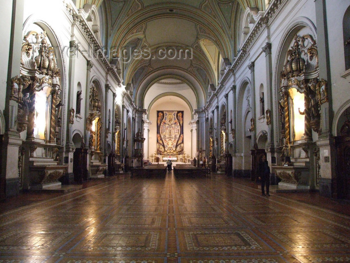 argentina311: Argentina - Buenos Aires - Capilla San Roque - interior - images of South America by M.Bergsma - (c) Travel-Images.com - Stock Photography agency - Image Bank