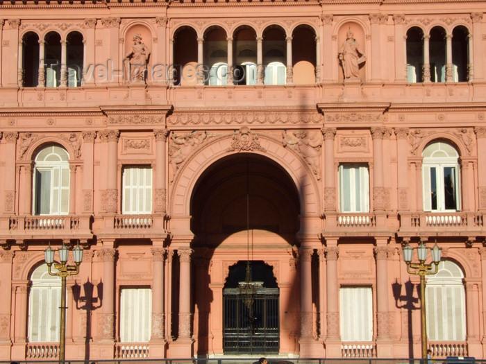 argentina313: Argentina - Buenos Aires - Casa Rosada - façade - images of South America by M.Bergsma - (c) Travel-Images.com - Stock Photography agency - Image Bank