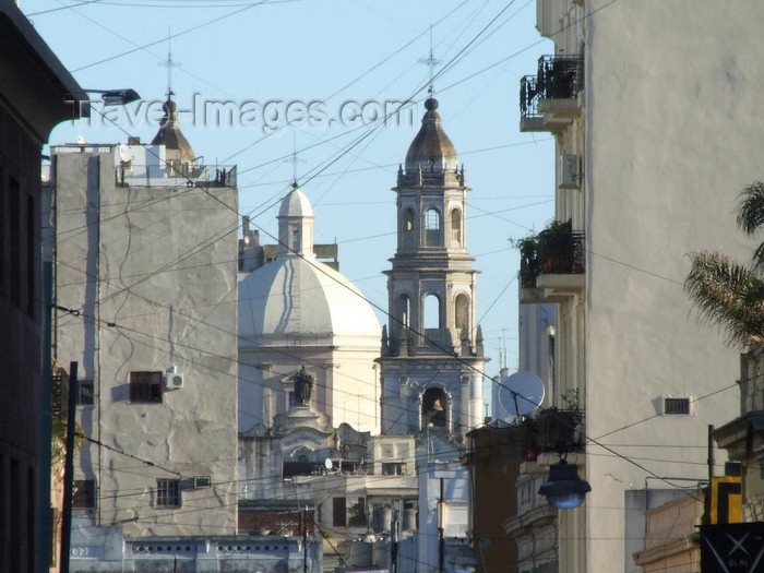 argentina324: Argentina - Buenos Aires - Houses and churches, San Telmo - images of South America by M.Bergsma - (c) Travel-Images.com - Stock Photography agency - Image Bank