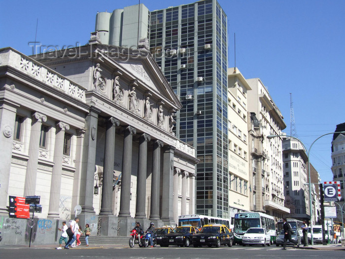 argentina331: Argentina - Buenos Aires - Neighbours of Teatro Colon - images of South America by M.Bergsma - (c) Travel-Images.com - Stock Photography agency - Image Bank