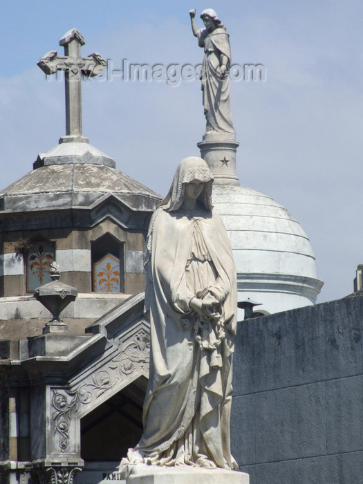 argentina355: Argentina - Buenos Aires - Recoleta cemetery - images of South America by M.Bergsma - (c) Travel-Images.com - Stock Photography agency - Image Bank
