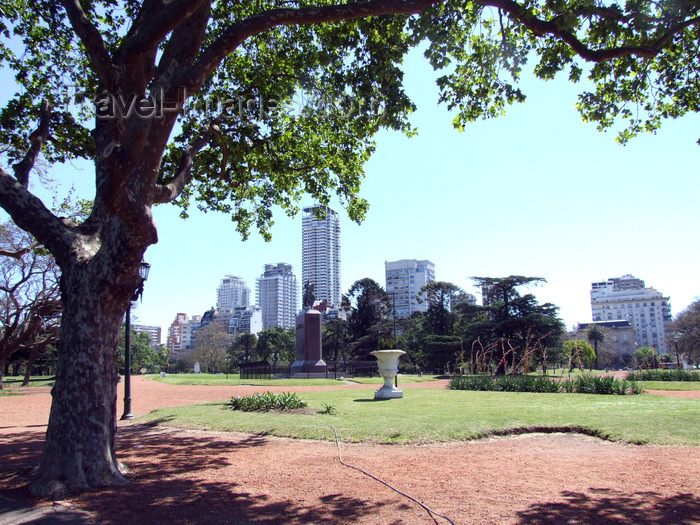 argentina359: Argentina - Buenos Aires - Skyline, Palermo - images of South America by M.Bergsma - (c) Travel-Images.com - Stock Photography agency - Image Bank