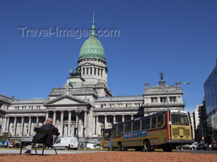 argentina371: Argentina - Buenos Aires - The Congress - images of South America by M.Bergsma - (c) Travel-Images.com - Stock Photography agency - Image Bank