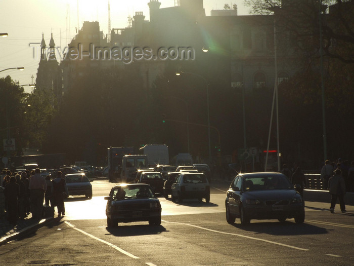 argentina373: Argentina - Buenos Aires - traffic - Puerto Madero - images of South America by M.Bergsma - (c) Travel-Images.com - Stock Photography agency - Image Bank