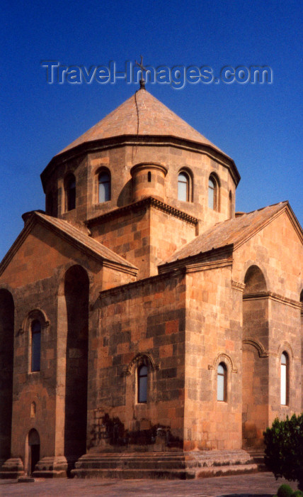 armenia102: Armenia - Echmiadzin / Vagarshapat: temple of St Hripsme - Armenian architecture of the classical period - VII century - UNESCO world heritage site - photo by M.Torres - (c) Travel-Images.com - Stock Photography agency - Image Bank